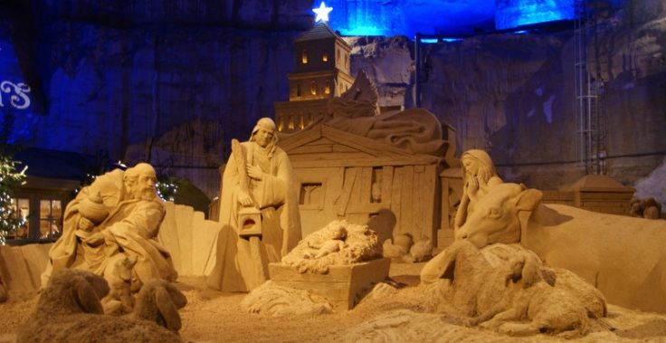 Sand sculptures, Valkenburg