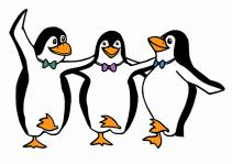 dansende pinguins