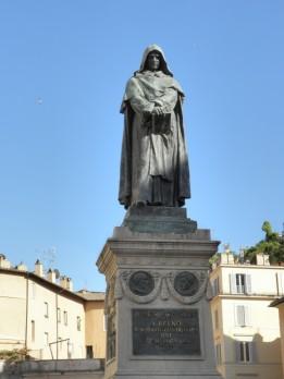 Campo dei fiori, Giordano Bruno