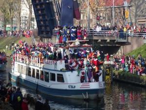 Sint-intocht-boot