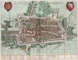 Utrecht, from the Atlas van Loon